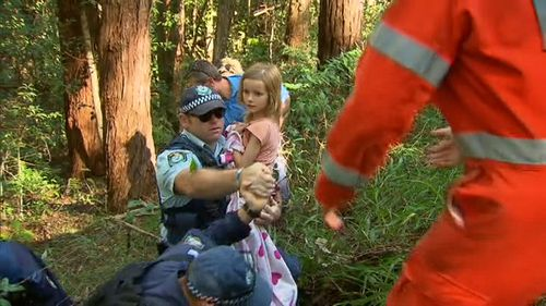 Police found the nine-year-old safe and well today. (9NEWS)