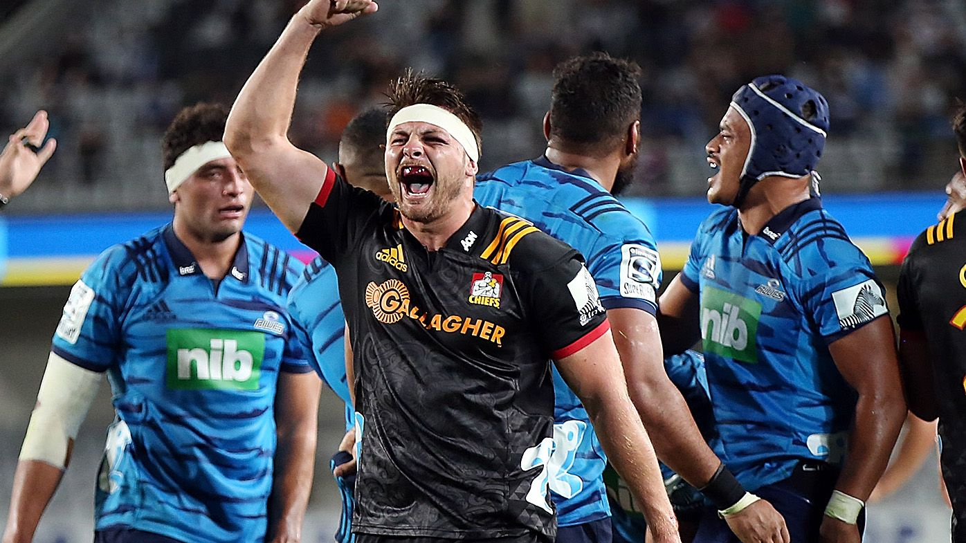 Super Rugby: Injured Chiefs survive Blues late comeback