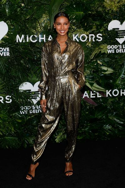 Jasmine Tookes at the Annual God's Love We Deliver Golden Heart Awards in New York City