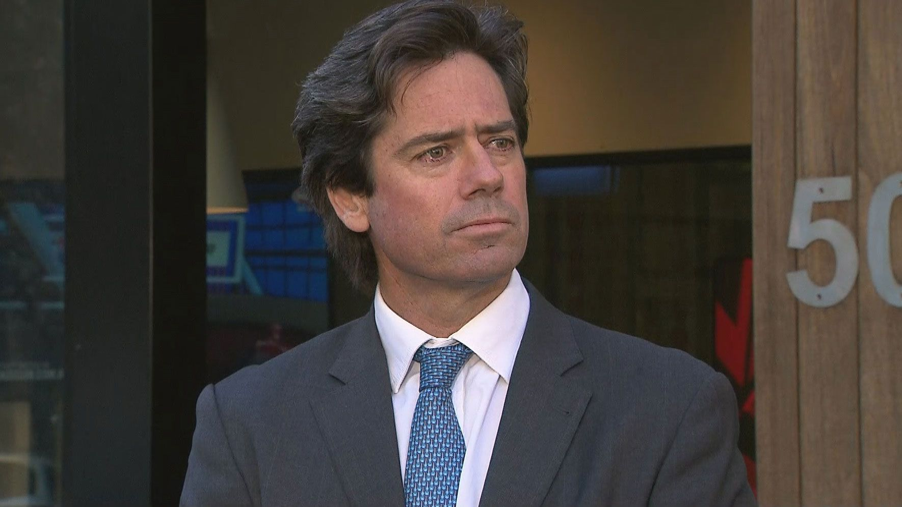 AFL boss Gillon McLachlan reveals Perth will host AFL grand final if MCG is unavailable