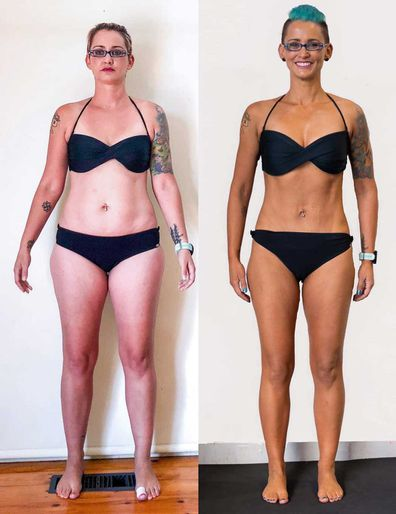 Jacinda Soussan's dramatic 13.2kg weight loss after competing in an F45 Challenge.