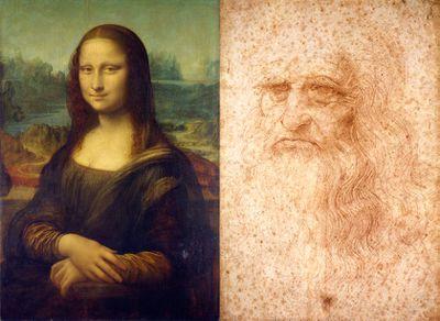 She's Da Vinci himself... in drag