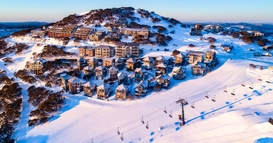 Hotham Alpine Resort village