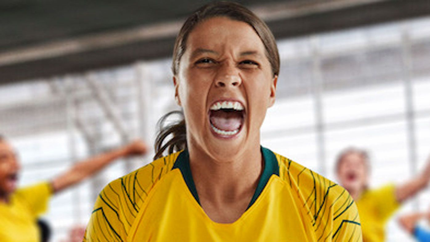 Nike turn to Australian women's stars Sam Kerr and Tayla Harris for new ad