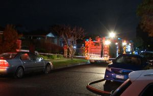 Elderly woman dies in house fire in Melbourne's west