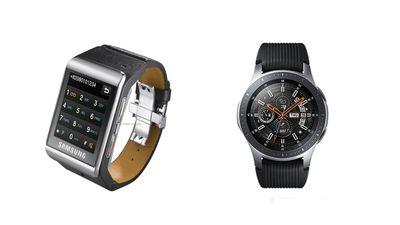 Samsung S9110 vs Samsung Galaxy Gear