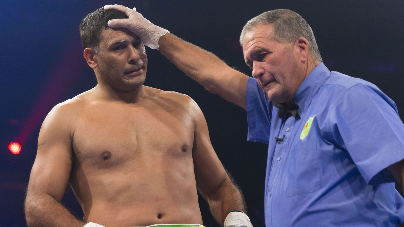 Justin Hodges says a fight with Paul Gallen 'is what everyone wants to see'