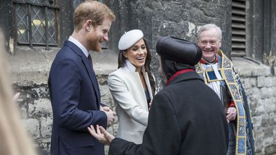 Meghan attends Commonwealth Day with the royals, 12 March 2018