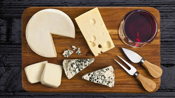 ldl cholesterol after cheese diet