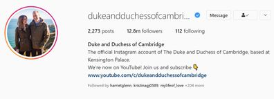 The couple unveiled their new-look Instagram account along with a YouTube channel.