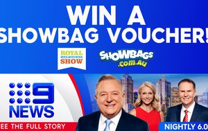 Win a $50 showbag voucher