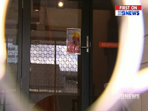 The Department of Education insists the centre is helping parents find alternative care for their kids. (9NEWS)