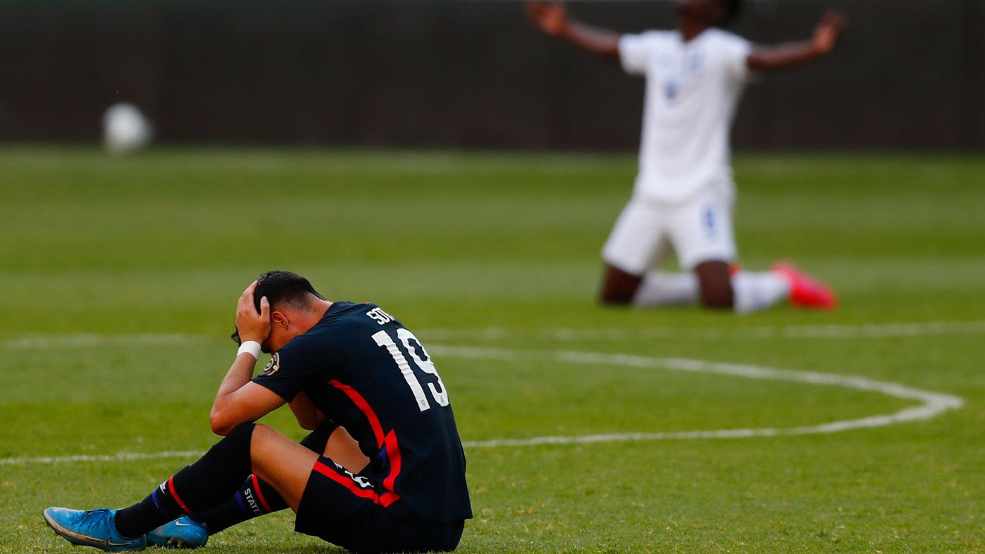 US men's football team 'devastated' after missing out on third consecutive Olympic Games