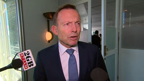 Mr Abbott, however, stood by his calls to scrap targets.