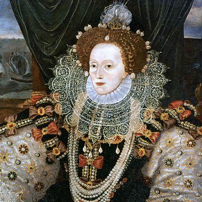 Queen Elizabeth I portrait by George Gower