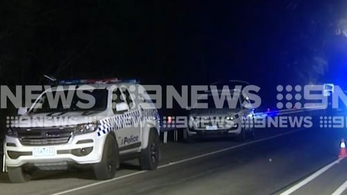 A man has died shortly after being arrested on The Great Ocean Road.