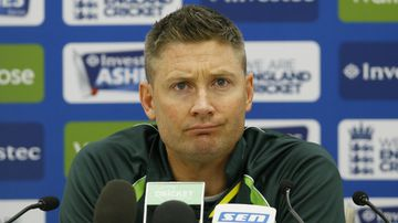 The Aussies will hope to send Michael Clarke out with a win. (AAP)