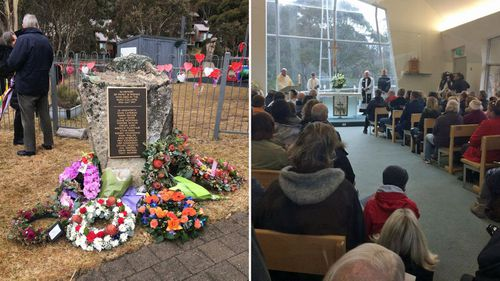 """Family and friends of the """"amazing and kind"""" people lost in the Thredbo landslide pay their respects on the 20th anniversary of the Australian tragedy."""