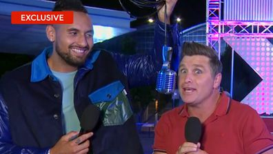 Exclusive: Nick Kyrgios and Shane Crawford go behind the scenes on ANW