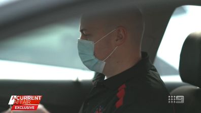 Paramedics found treating COVID-19 patients with ineffective masks.