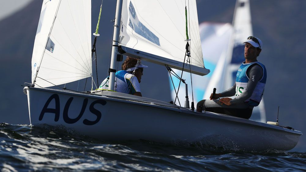 Aust sailors' final day dipped in silver