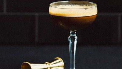 <strong>Stolen smoked espresso martini</strong><br />