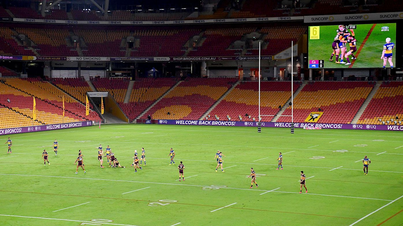 Queensland to welcome up to 2000 fans at sports stadiums