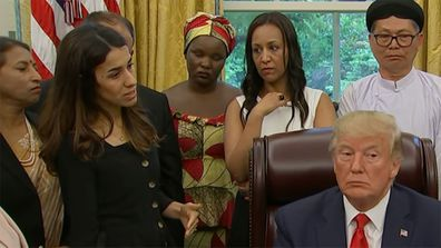 President Trump Nadia Murad