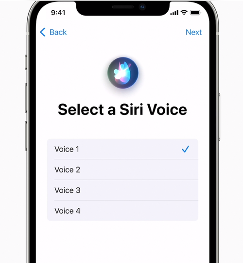 You can now choose what Siri sounds like.