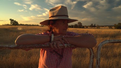 Cate Stuart claims the bank bullied her and her family off their farm.