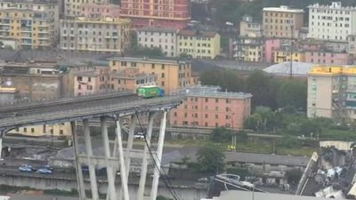 Up to 20 still missing in Genoa bridge tragedy