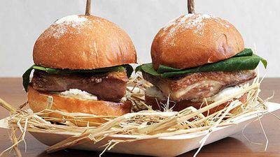 <strong>Biota's lamb belly sliders with pecora curds</strong>