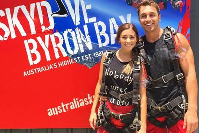 @lisa_m_hyde: I have always been scared of heights and never thought I would #skydive, 2014 taught me to challenge myself and be open minded to new experiences, I guess that is what makes the journey worth while! Super excited to see what 2015 brings! Thanks for all the encouragement, I definitely needed it. Happy New Year to you all. @skydive_byron_bay @redballoonexperiences