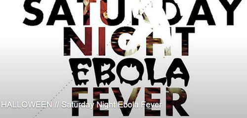 London club under fire for 'Saturday Night Ebola Fever' Halloween party