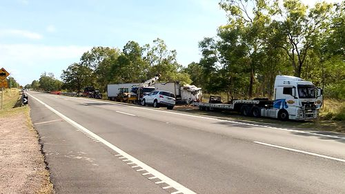 """Three people have died in two separate crashes overnight north of Townsville in what police have labelled as a """"traumatic night"""" for emergency crews."""