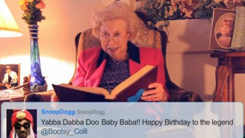 Watch: Hilarious grandma raps Snoop Dogg tweets