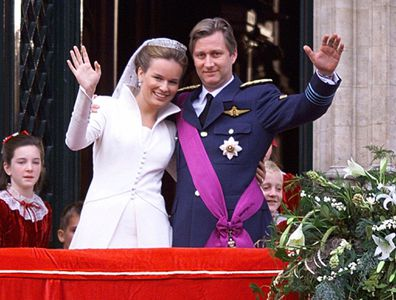 Belgian royals celebrate 20th wedding anniversary Queen Mathilde King Philippe