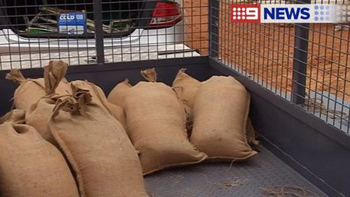 A number of outback roads have already been closed with more flash flooding likely. (9NEWS)