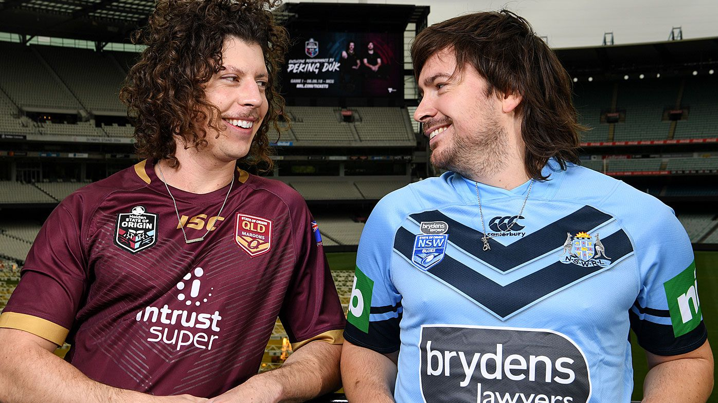 State of Origin 2018: Peking Duk to perform pre-match entertainment ahead of Game 1 at the MCG