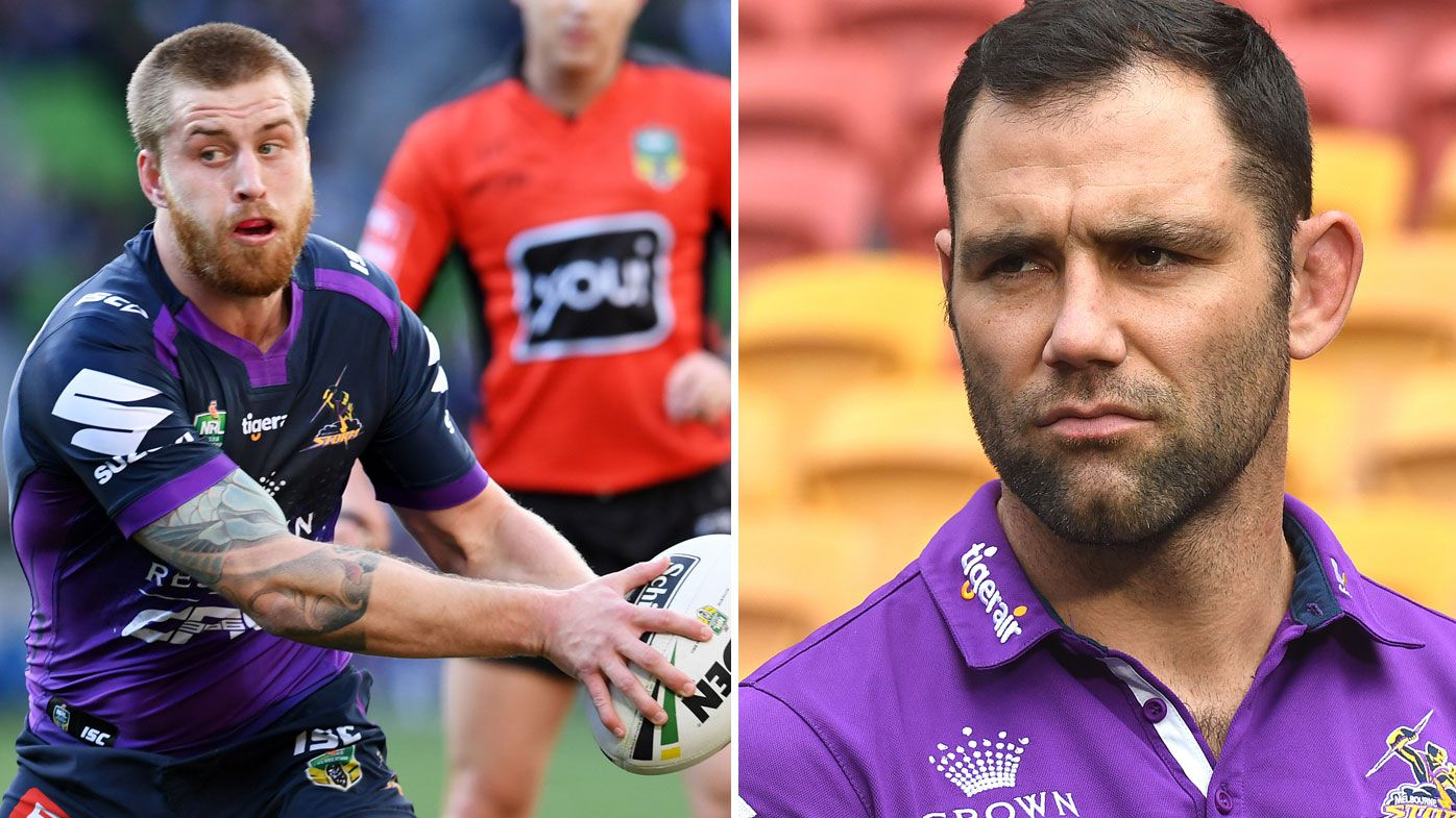 Melbourne Storm captain Cameron Smith warns teammate Cameron Munster to behave