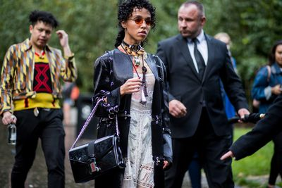 FKA Twigs - tribal cool with a touch of punk.