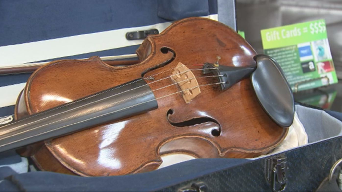 <strong>$67 violin discovered by pawn shop to be worth more than $330,000</strong>