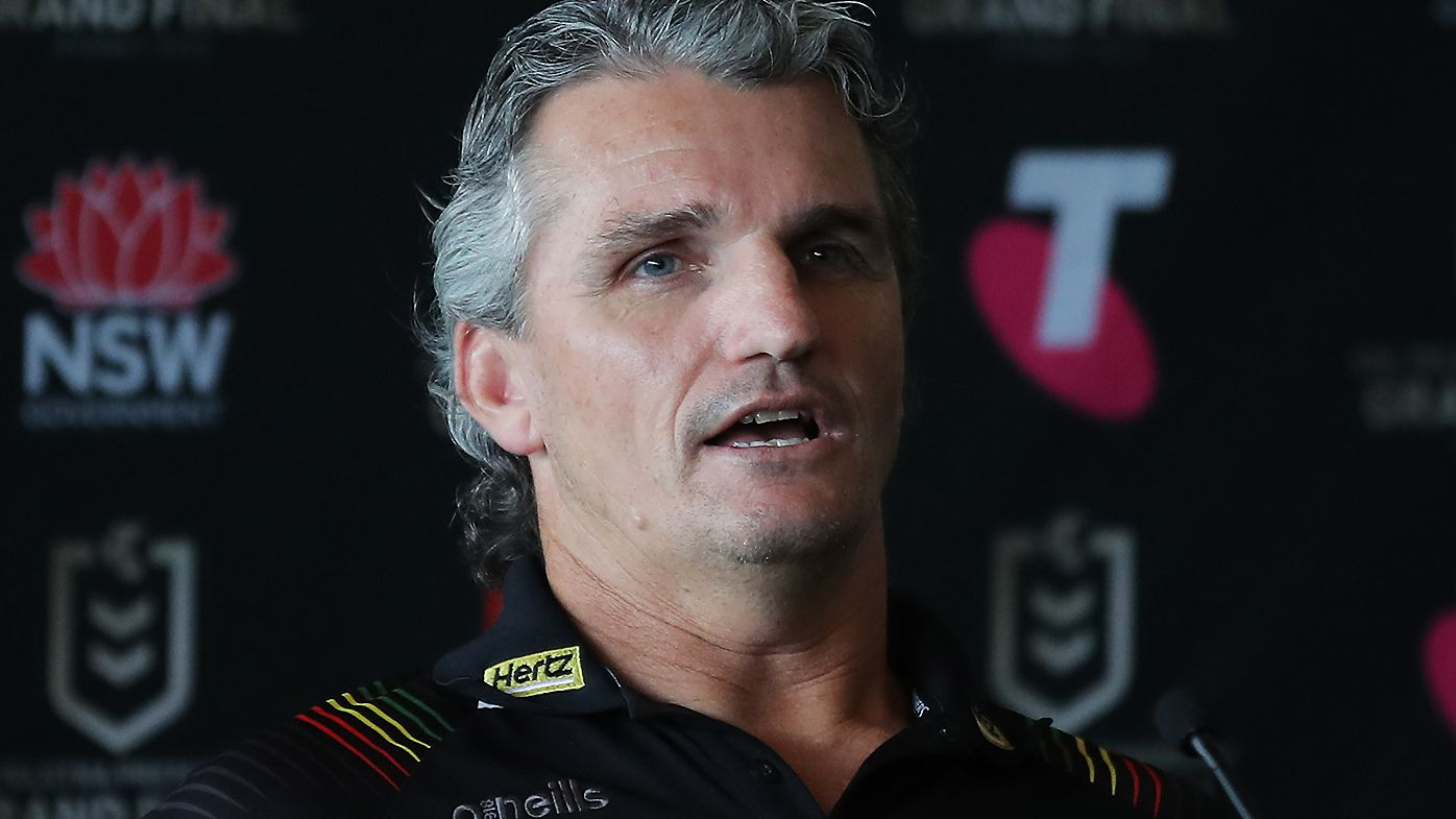 Ivan Cleary rubbishes claims Panthers are arrogant after try celebration controversy