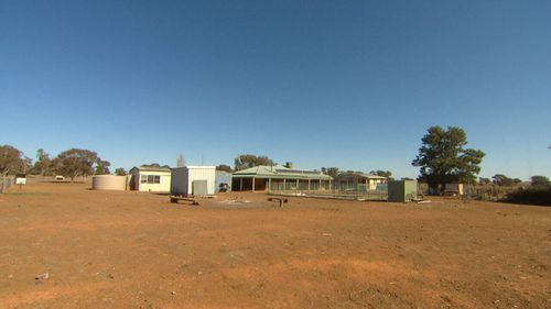 The Trewilga's rural retreat was peaceful until the government moved the Newell Highway to run past their property.