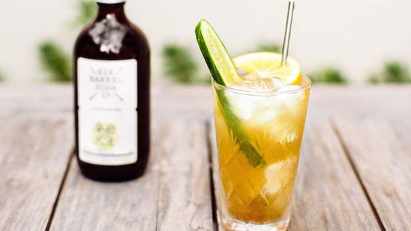 Celeryman liquored iced soda