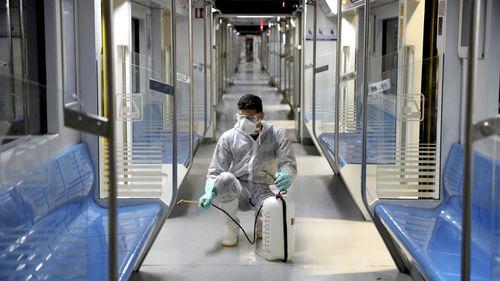 Iran fights the spread of coronavirus.