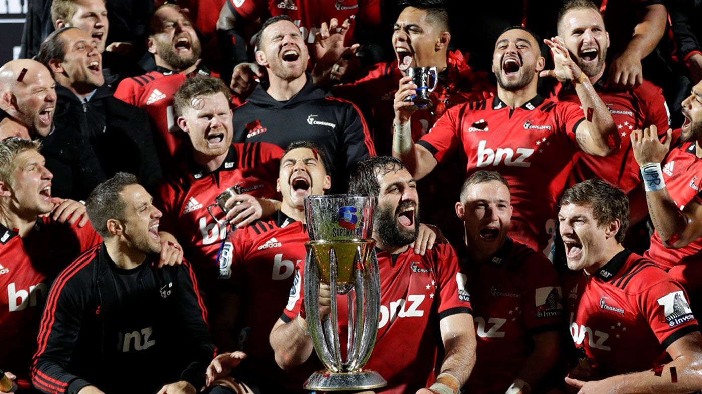 Crusaders claim 10th Super Rugby title