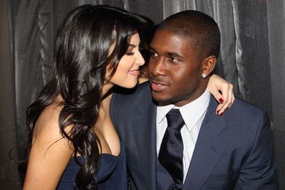 A now very famous Kim fell in love with NFL star Reggie Bush. The pair dated on and off for three years.