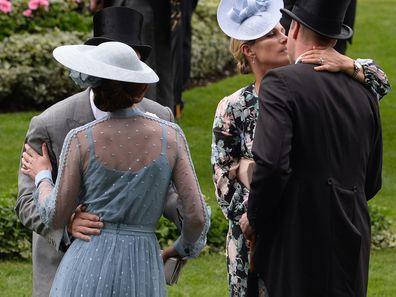 Awkward moment between royals at Royal Ascot