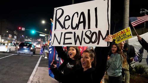 Republicans in California want Gavin Newsom out of office.